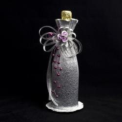 Декоративна украса за шампанско 06