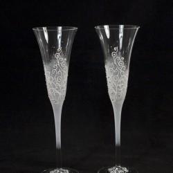 Ритуални чаши модел 106 сребро