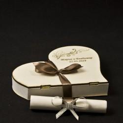 Подарък- покана кумска 13