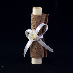 Благодарствен подарък за сватба свитък с пожелание
