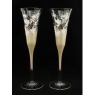 Сватбени чаши модел 11 злато