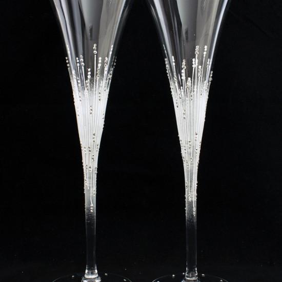 Ритуални чаши модел 114 сребро