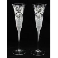 Сватбени чаши модел 34 сребро