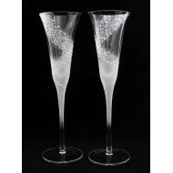 Сватбени чаши модел 42 сребро
