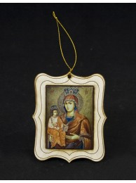 Подарък икона на Св. Богородица 02 с магнит